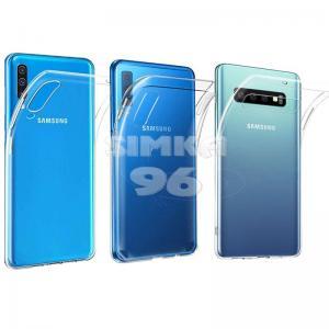Чехол задник для Samsung S10E гель прозр. тонкий