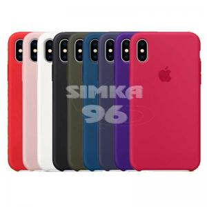 Чехол задник для iPhone ХS Max Silicone Case