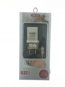 СЗУ  BYZ B37 (microUSB) 2 выхода USB 2.1А