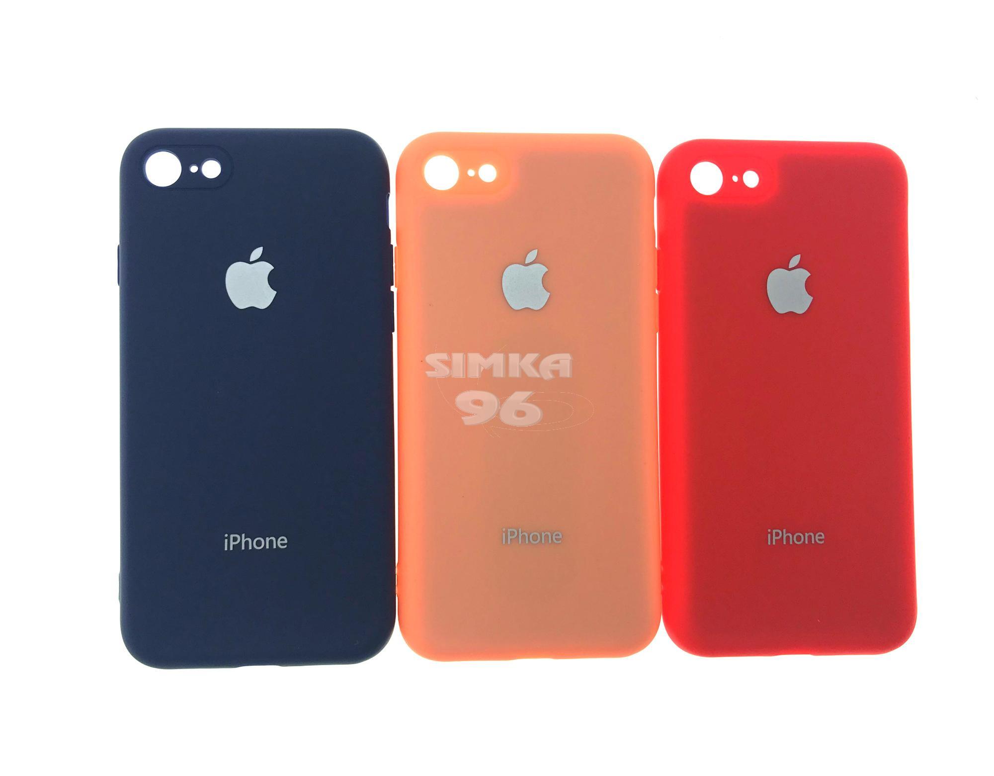 Чехол задник для iPhone 7 Silicone Case (копия)