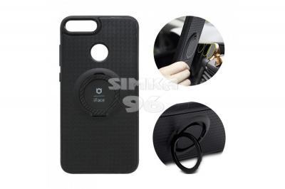 Чехол задник для Samsung S10+ силикон iFace (кольцо+магнит)