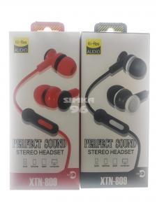 Наушники Stereo XTN-809 вакуумные с микрофоном