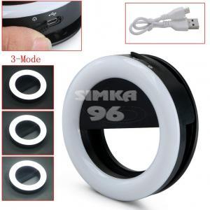 Кольцо для селфи на аккумуляторе