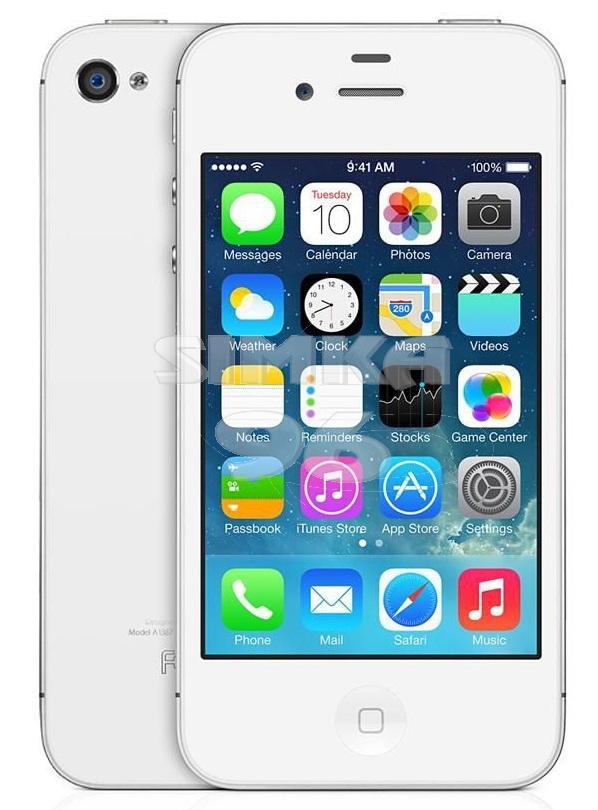 Чехол задник для iPhone 4 гель прозр.