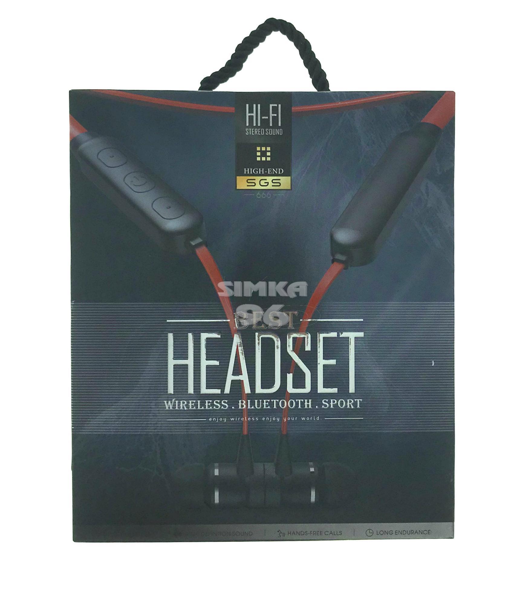 Наушники Bluetooth Headset SGS666