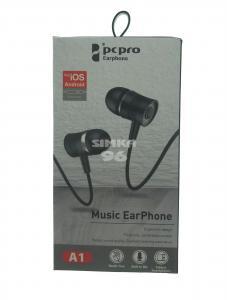Наушники вакуумные с микрофоном  PS&PRO А1