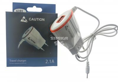 СЗУ Caution 6101 +1выход USB 2.1A