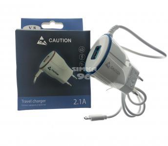 СЗУ Caution V8 +1выход USB 2.1A