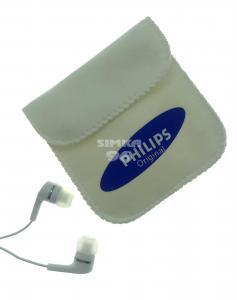 Наушники PHS вакуумные с микрофоном в чехле