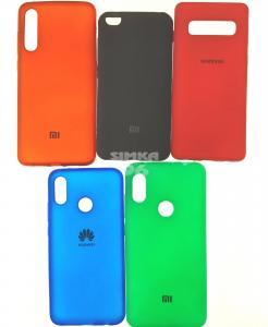 Чехол задник для Huawei Honor P30 Lite силикон цветной