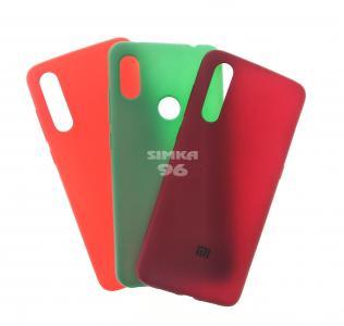 Чехол задник для Xiaomi Redmi Mi9 силикон цветной