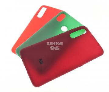 Чехол задник для Xiaomi Redmi Note6 Pro силикон цветной