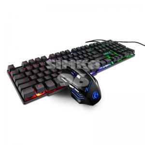 Проводная игровая клавиатура + мышь F92