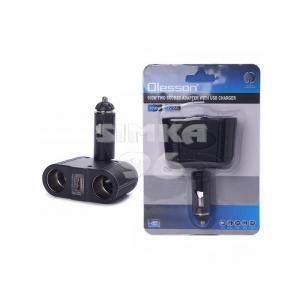 Двойник для прикуривателя Olesson 1646+1 USB