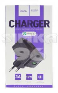 СЗУ Hoco C70A 1 выход USB Quick Charge