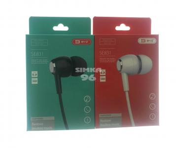 Наушники BYZ- SE831 вакуумные с микрофоном