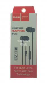 Наушники Union UF-303 вакуумные с микрофоном