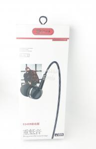 Наушники BYZ-  S340B вакуумные с микрофоном