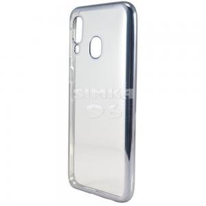 Чехол задник для Samsung A40 гель прозр. тонкий