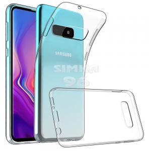 Чехол задник для Samsung S8 гель прозр. тонкий