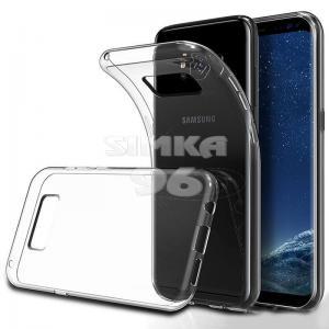 Чехол задник для Samsung S9 гель прозр. тонкий