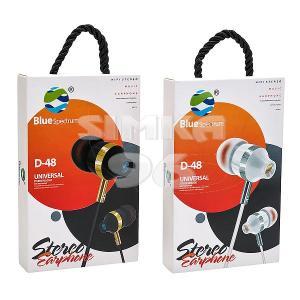 Наушники вакуумные с микрофоном Blue Spectrum D-48