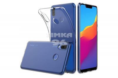 Чехол задник для Huawei Honor 8x гель прозр. плотный