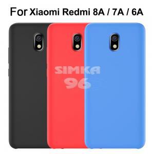 Чехол задник для Xiaomi Redmi 8A силикон цветной