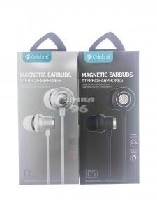 Наушники вакуумные с микрофоном Celebrat D5