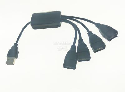 USB 2.0 HAB (4 порта) с проводами