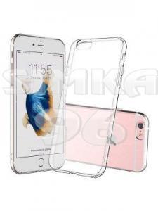 Чехол задник для iPhone 7+ гель плотный прозр.