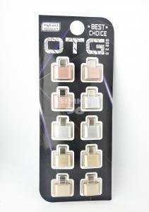 Переходник OTG Type-C - USB A (блистер 10шт)