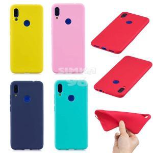 Чехол задник для Huawei Honor 8C силикон цветной
