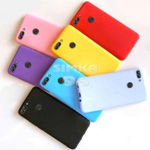 Чехол задник для Huawei Psmart (2019) силикон цветной
