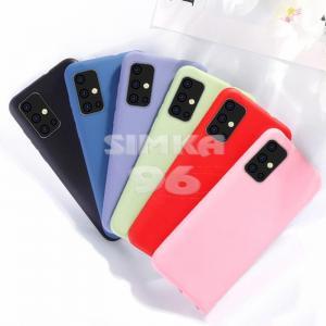 Чехол задник для Samsung A51 силикон цветной