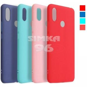 Чехол задник для Xiaomi Redmi 8 силикон цветной
