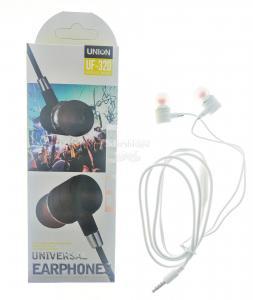 Наушники Union UF-320 вакуумные с микрофоном