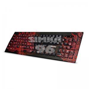 Клавиатура проводная мультимедийная с принтом Smartbuy SBK-223U