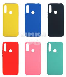 Чехол задник для Huawei P Smart Z силикон цветной