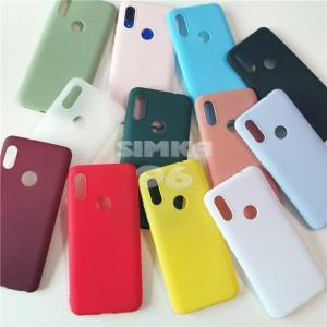 Чехол задник для Huawei Honor 9С силикон цветной
