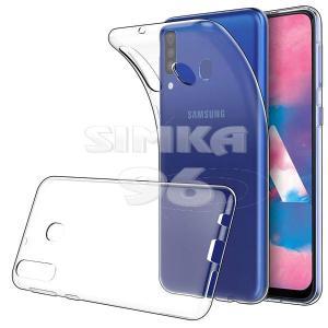 Чехол задник для Samsung M30 гель прозр. плотный