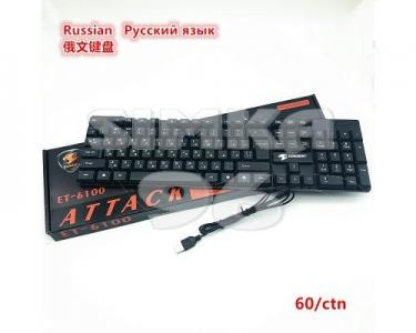 Клавиатура проводная  ET-6100