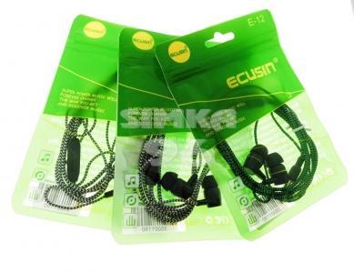 Наушники Ecusin E12 вакуумные с микрофоном (пакет)