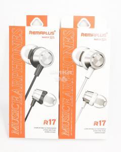 Наушники REMAPLUS R17 вакуумные с микрофоном