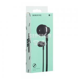 Наушники BOROFONE M21 вакуумные c микрофоном