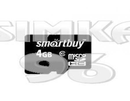 MicroSD  Smartbuy 4Gb  10 Class