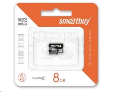 MicroSD  Smartbuy 8Gb  10 Class