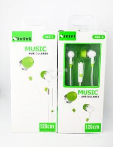 Наушники Sivivi AU433 вакуумные с микрофоном