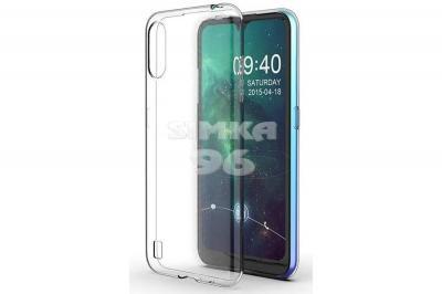 Чехол задник для Samsung A01 гель прозр. плотный