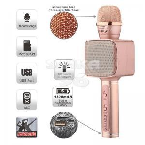 Bluetooth микрофон YS-68 светящийся